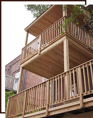 construction de patio patio en c dre saint lambert. Black Bedroom Furniture Sets. Home Design Ideas